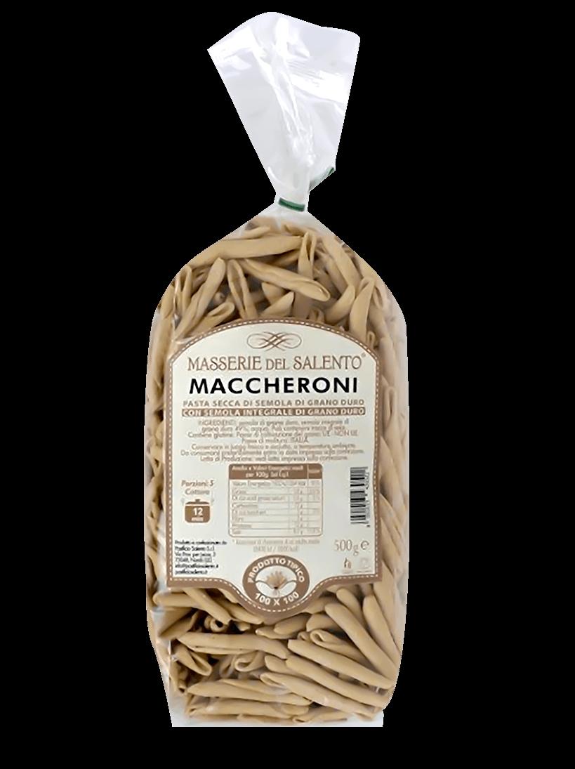 Maccheroni secchi integrali Masserie Del Salento