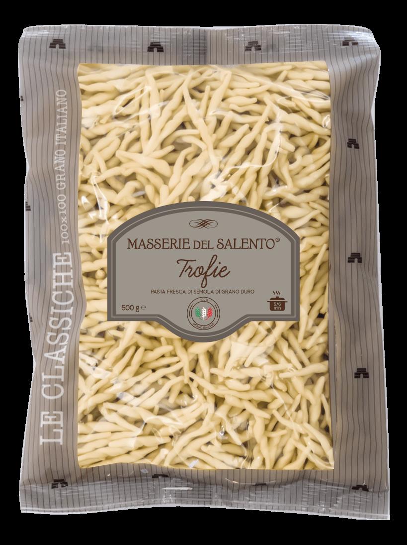 pasta fresca trofie masserie del salento