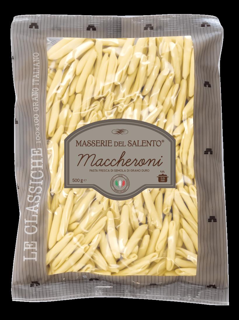 pasta fresca maccheroni masserie del salento
