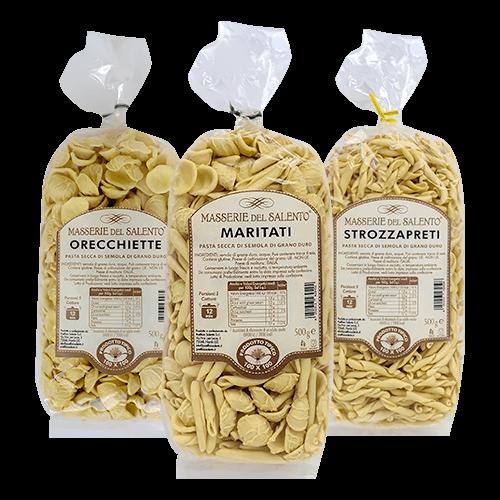 Pasta secca di Semola - Masserie del Salento